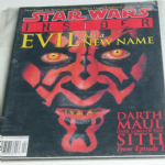 Star Wars Insider Magazine issue 42 DARTH MAUL DARK LORD SITH EPISODE 1
